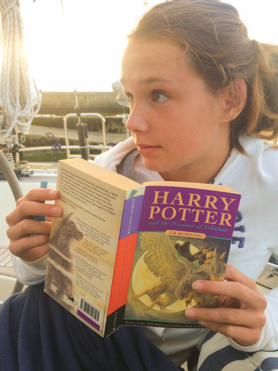 Annick en Rein lezen alle Harry Potter boeken