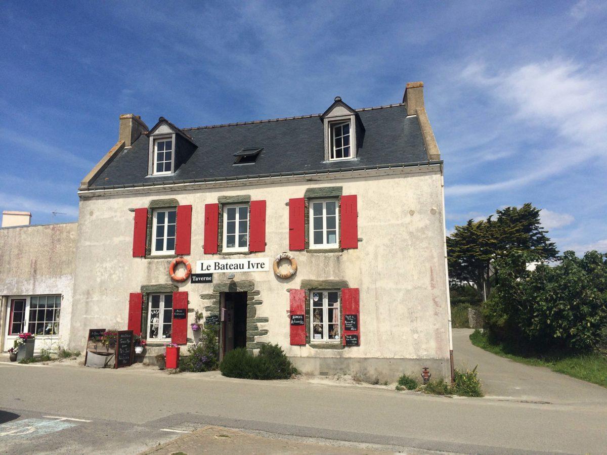 Curieus caféetje op Île de Groix