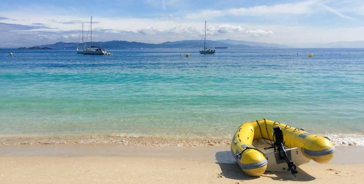 Paradise Regained bij Islas Ciés