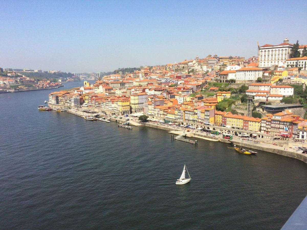 Porto met een HR op de Douro