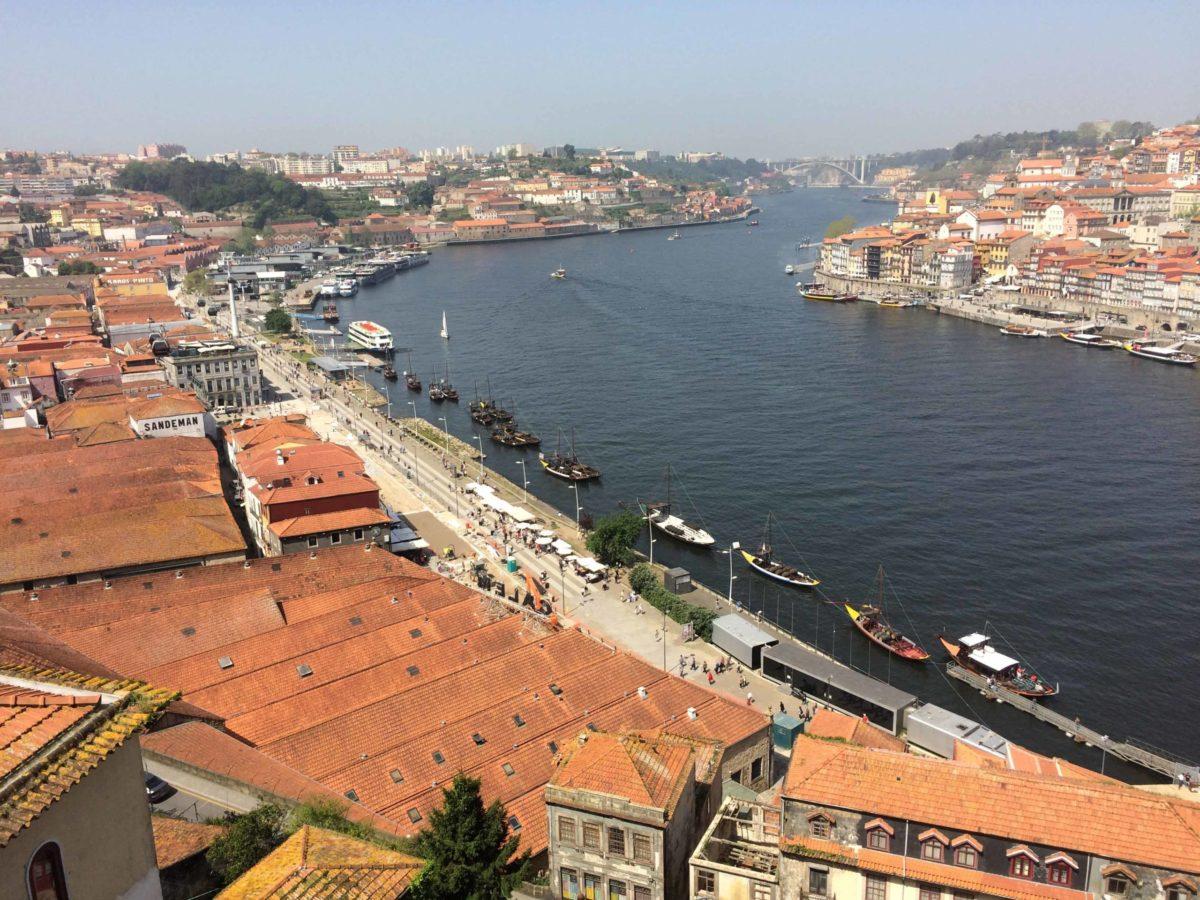 Douro, Porto vanaf zuidoever