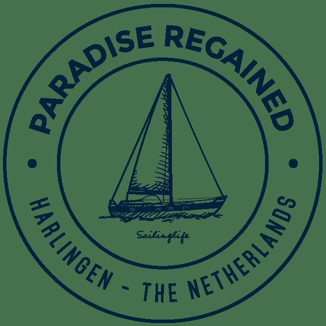 Logo Blauw Sailing Paradise Regained