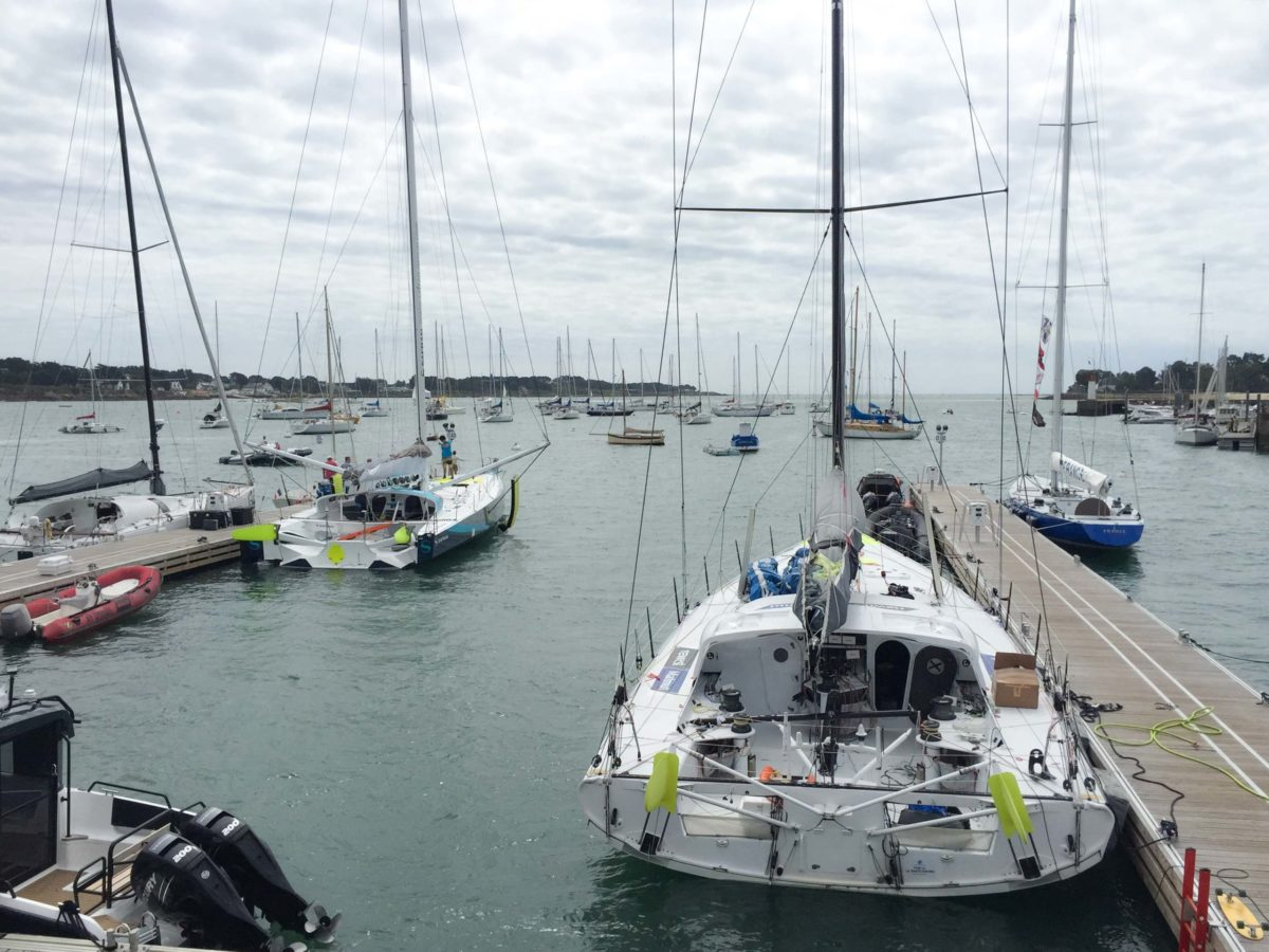 Voorbereidingen voor de Vendée Globe