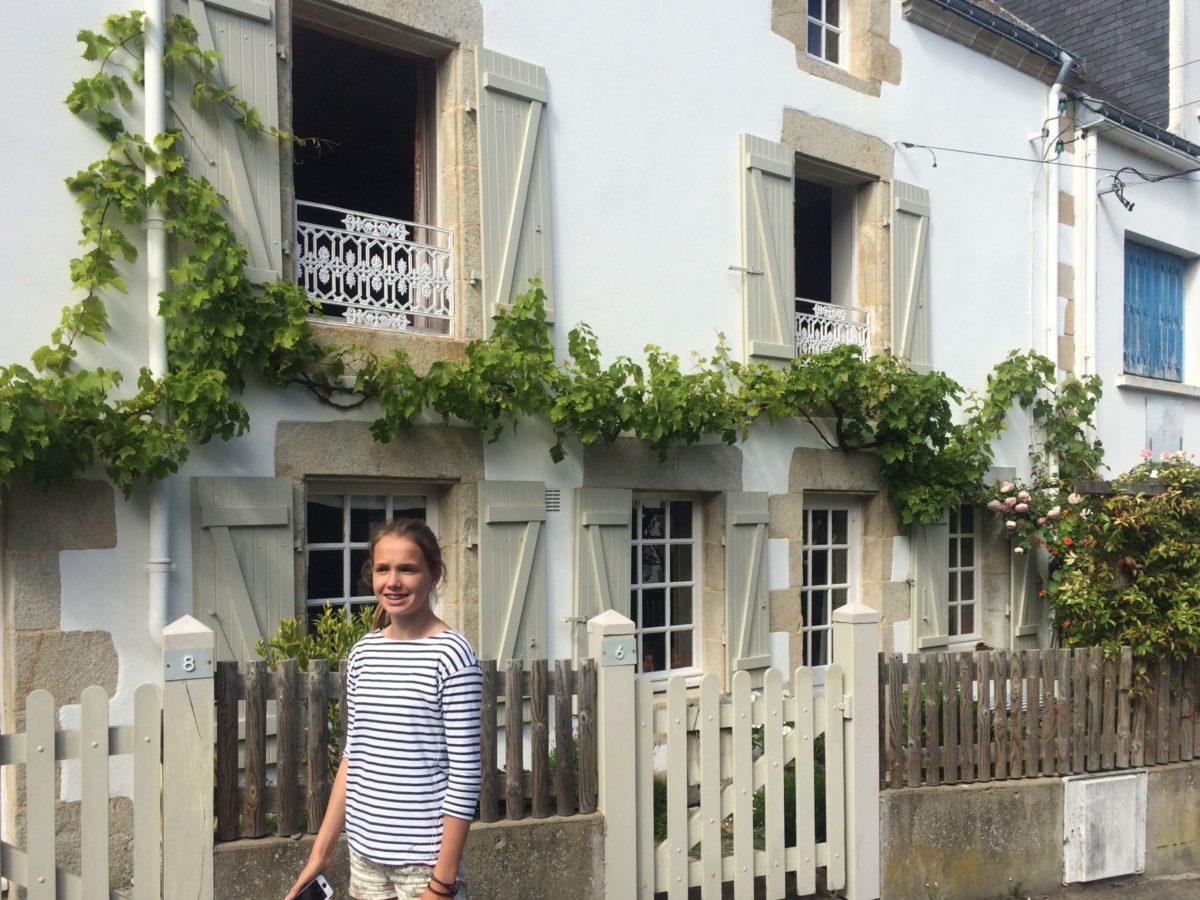 Schattige huisjes in La Trinité